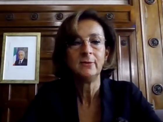 Ministra Marta Cartabia carcere e pandemina